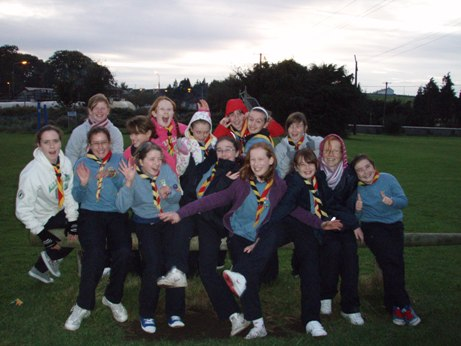 Raheny Guides Indoor Camp - Birr 2009