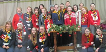 Raheny Guides Christmas Camp