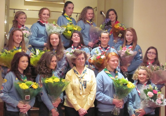All the Award receivers and Chief Commissioner Catherine Lenihan