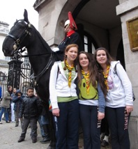 Rangers with the Horse Guard