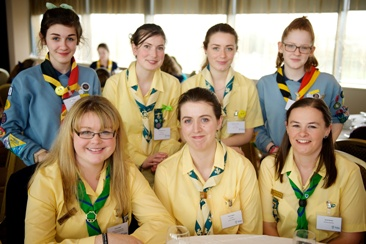 Guides and Guiders from Raheny