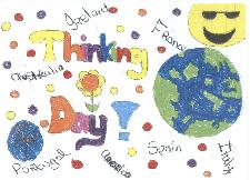 World Thinking Day Postcard Competition